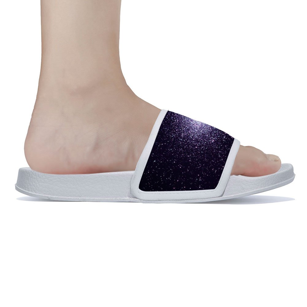 Buteri Mysterious Nebula Slippers Quick-Drying Non-Slip Slippers for Womens