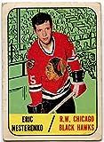 1967/68 Topps Eric Nesterenko Card #60 Chicago Black Hawks