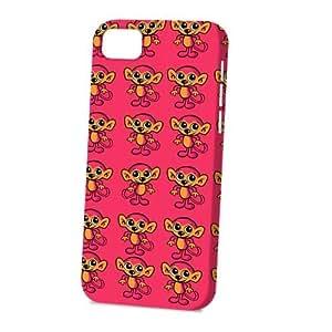 Case Fun Apple iPhone 5C Case - Vogue Version - 3D Full Wrap - Monkey Cartoon