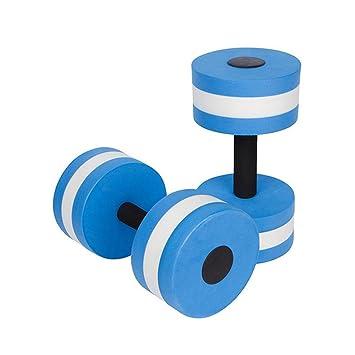 Amazon.com: hofumix Aqua mancuernas ejercicio aeróbico pesas ...