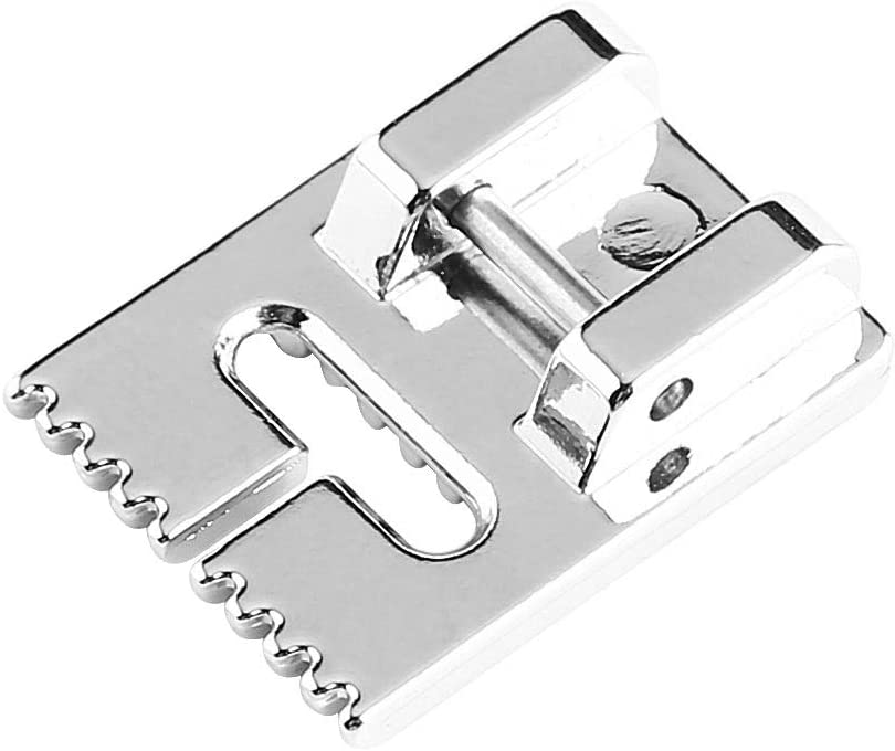 Household Electric Multi-Function Sewing Machine Pintuck Presser Foot with 9 Grooves