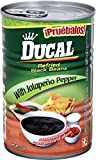 Ducal Refried Black Beans with Jalapeno, 15 Ounce (Pack of 24)