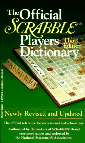 The Official Scrabble Players Dictionary (Third Edition) New Scrabble Dictionary