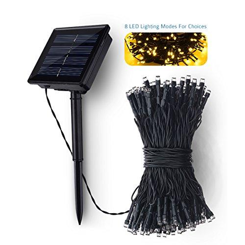 Outside String Lights Not Working : Litom Outdoor Solar String Lights 200 LED Solar Power Light - Import It All