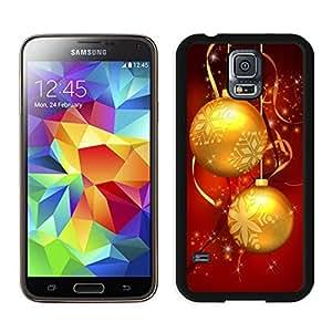 linJUN FENGIndividualization Merry Christmas Black Samsung Galaxy S5 Case 38