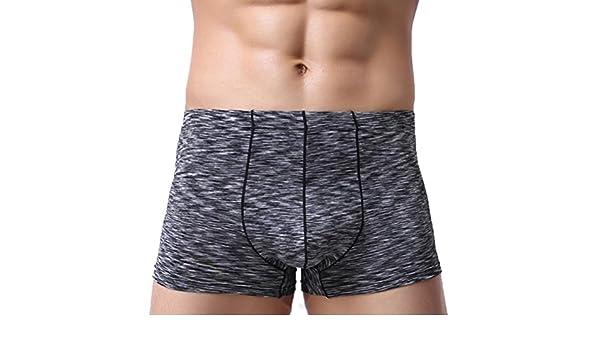 Ropa Interior Sexy Shorts Suave Transpirable Verano Nueva Ropa Interior Calzoncillos Boxers Calzoncillos Transpirables De Cintura Baja Ropa Interior De Los ...