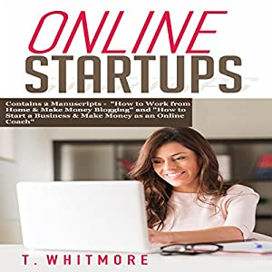 Online Startups: 2 Manuscripts Audiobook