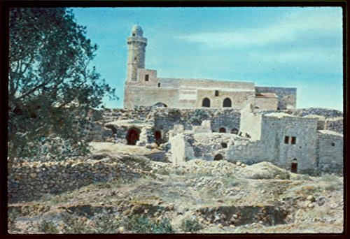 - Vintography 1950 Photo Area Near Jerusalem. Mizpah, The Mosque Over The Traditional Tomb of Samuel Location: Israel, Nebi Samwil