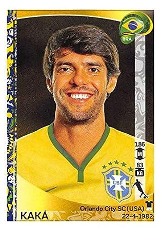 cfc8df395 Amazon.com  2016 Panini Copa America Centenario Stickers  130 Kaka ...