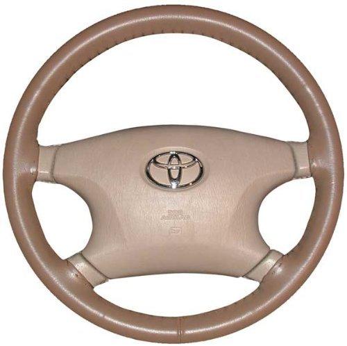 - Wheelskins WS10236XX Genuine Leather Oak Size AXX Steering Wheel Cover
