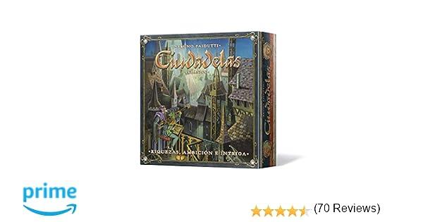 Asmodee - Ciudadelas Clásico, juego de mesa (Edge Entertainment EDGCTD01)
