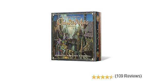 Asmodee - Ciudadelas Clásico, juego de mesa (Edge Entertainment ...