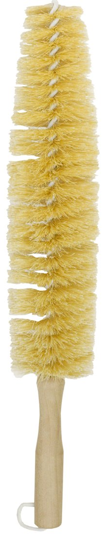 Nanoskin (85-799) Large Spoke Wheel Brush with Plastic Coated Wire