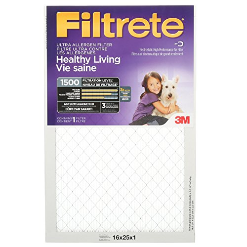 Filtrete Ultra Allergen Furnace Air Filter Mpr 1500