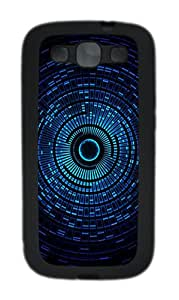 Samsung Galaxy S3 I9300 Cases & Covers Abstract Blue Space Orb Custom TPU Soft Case Cover Protector for Samsung Galaxy S3 I9300 Black