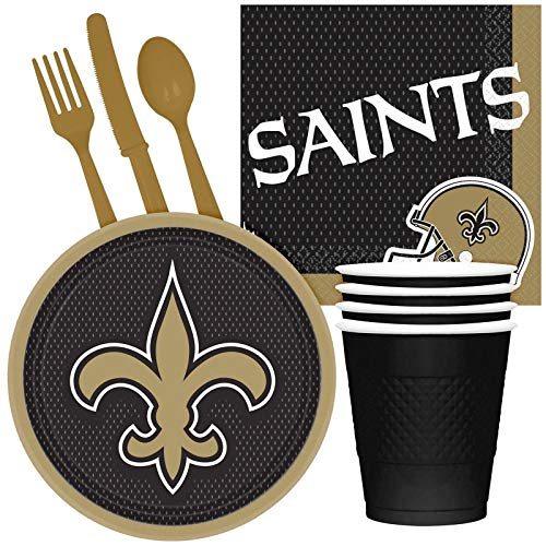(NFL New Orleans Saints Tailgate Party Pack (for 16)