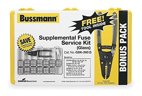 Cooper Bussmann GSK-260 Glass Fuse Service Kit by Cooper Bussmann