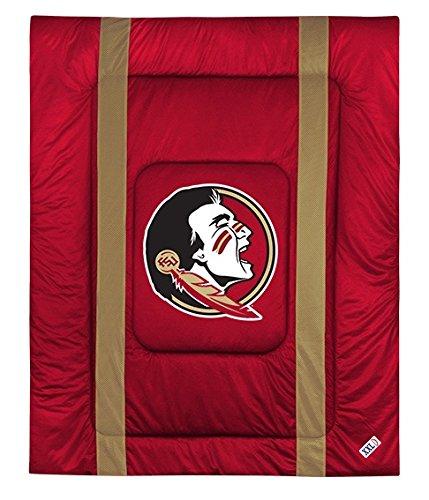 Florida State University Jersey Stripe Comforter (Twin) ()