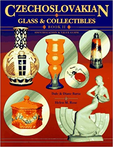 Czechoslovakian Glass & Collectibles: Book II : Identification & Value Guide