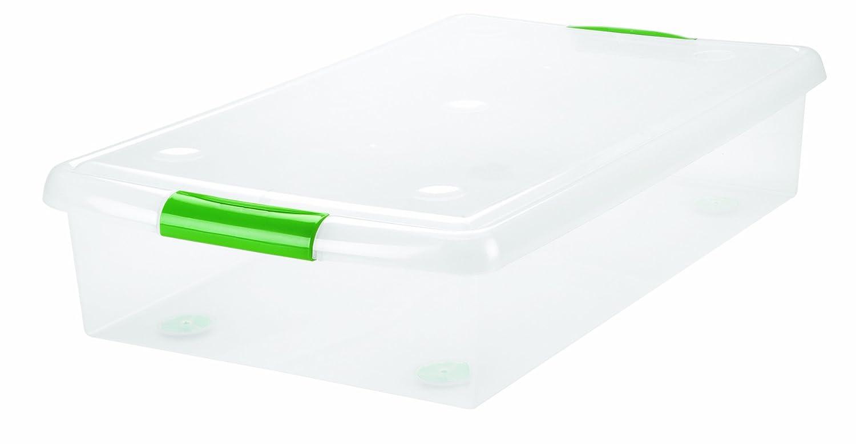 Amazing Amazon.com: IRIS Underbed Plastic Storage Container   Set Of Two (Clear):  Home U0026 Kitchen