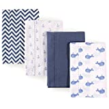 Hudson Baby Flannel Burp Cloths