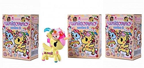 Tokidoki Unicorno Series 5 Collectible Vinyl Figure (Pack of 3)