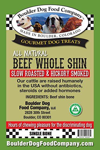 Beef Shin Bone (Boulder Dog Food Company Baked Beef Bone - Whole Shin)
