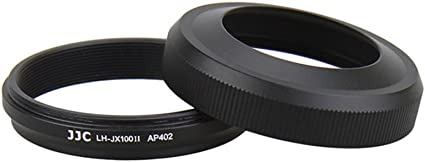 Jjc Gegenlichtblende Für Fujifilm X100 X100s Und X100t Schwarz