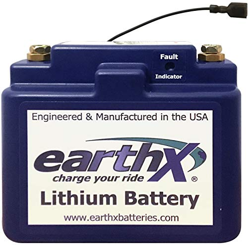 EarthX ETX104 Critical Load Back Up Battery for Aircraft