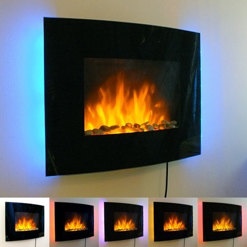 Elektrischer-Wandkamin-mit-Flammenambiente-Glas-Front-gebogene-Form-LED-Backlight-in-7-Farben-zum-Befestigen-an-der-Wand-18-kW-Schwarz