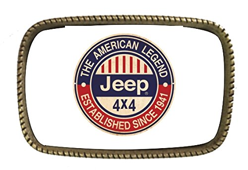 Jeep Belt Buckles - 1