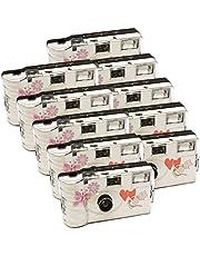 Photo Porst - Juego de 10cámaras desechables (27 fotos cada cámara, con flash)