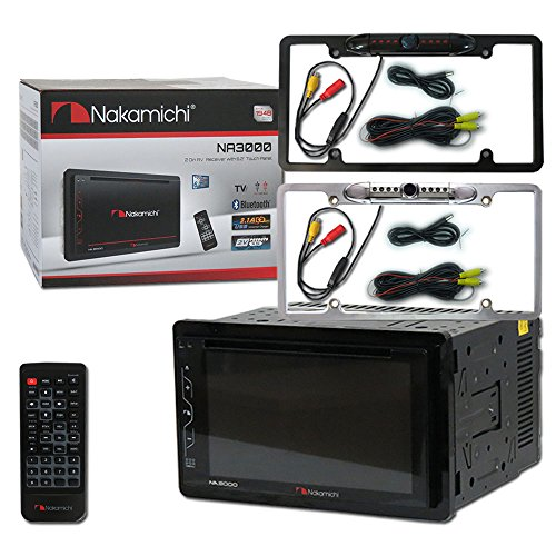 """Nakamichi Double DIN 2DIN NA3000 6.2"""" Car stereo MP3 for sale  Delivered anywhere in USA"""