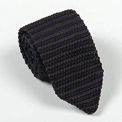 XIAMAZ Moda Vestidos De Hombre Corbata Casual Corbata De Punto ...