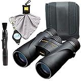 Best Birding Binoculars Nikons - Nikon Monarch 5 10x42 Binoculars (7577) Waterproof/Fogproof Bundle Review