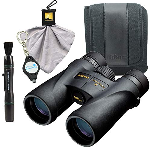 Nikon Monarch 5 10x42 Binoculars (7577) Waterproof/Fogproof Bundle with Nikon Lens Pen