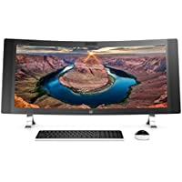 HP ENVY 34 CURVED All-In-One Desktop (Intel® Core i7-6700T Processor, 34 WQHD LED (3440x1440) Display, NVIDIA 960A, Intel RealSense™ 3D Camera, Win 10, 512GB PCIe + 1TB SSD Storage, 16GB DDR4 RAM)