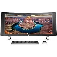 HP ENVY 34 CURVED All-In-One Desktop (Intel® Core i7-6700T Processor, 34 WQHD LED (3440x1440) Display, NVIDIA 960A, Intel RealSense™ 3D Camera, Win 10, 512GB PCIe + 1TB SSD Storage, 16GB DDR4 RAM)