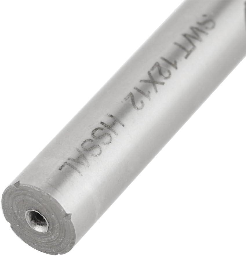 4 PCS Milling Cutter,4 Flutes HSS Roughing End Mill CNC Router Bit M6 //M8 //M10 //M12