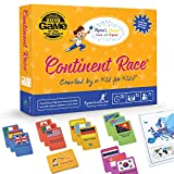 Board Games for Kids 7 and Up - Educational Games for Families and Kids - Fun, Interactive Geography Games for The Whole Family - Cards Included