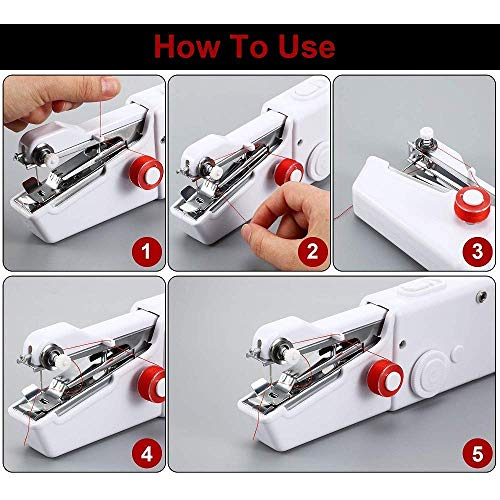 Portable Handy Stitch Sewing Machines for Home Tailoring
