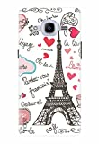 Noise Designer Printed Case / Cover for Samsung Galaxy J2 Pro - 6 (New 2016 Edition) / Patterns & Ethnic / Paris Design (GD-170)