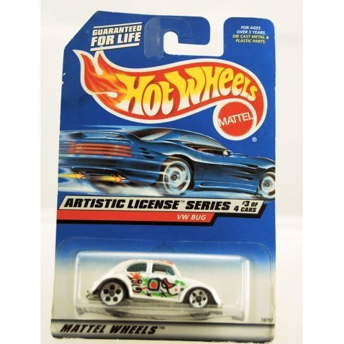 Hot Wheels 1997 Artistic License Series VW BUG 3/4 #731 1:64