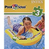 Intex 1-2-3 Pool School Inflatable Kick Board Float Swimming Aid #58167