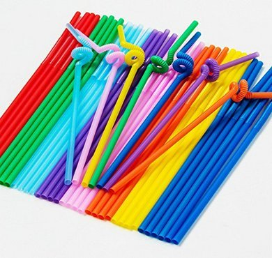 500 Pack Extra Long Disposable Bendable ...