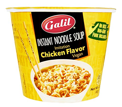Galil Instant Vegan Chicken Noodle