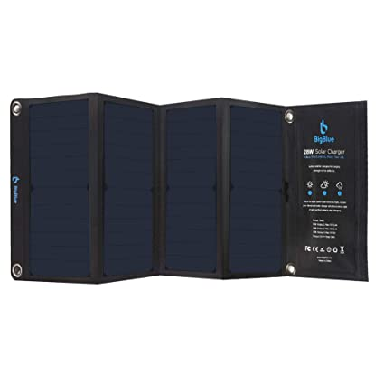 4e7a431853c Amazon.com  BigBlue 3 USB Ports 28W Solar Charger