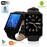 Indigi Premier 3G GSM Unlocked Android 5.1 OS SmartWatch & Phone + GPS(Maps) + Heart Rate Monitor + Alarm