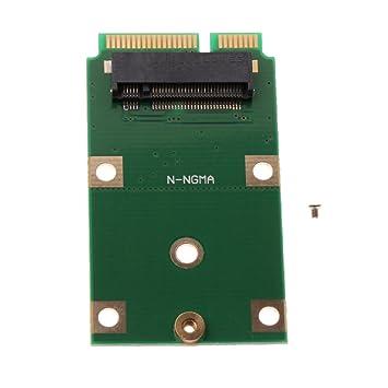 Baoblaze M.2 Adaptador SSD NGFF to mSATA Tarjeta de ...