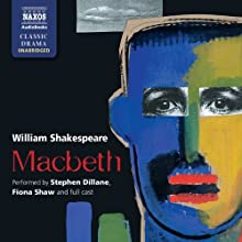 Macbeth Audiobook by William Shakespeare Narrated by Stephen Dillane, Fiona Shaw,  full cast